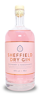 Sheffield Dry Gin Raspberry and Pomegranate